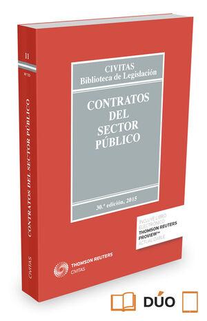 CONTRATOS DEL SECTOR PÚBLICO (PAPEL + E-BOOK)