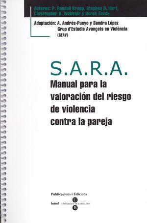 S.A.R.A. MANUAL PARA LA VALORACIÓN DEL RIESGO DE VIOLENCIA CONTRA LA PAREJA + BL