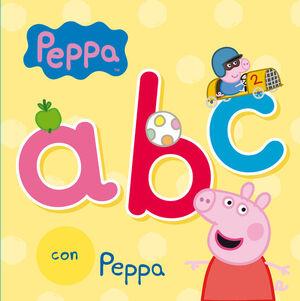 ABC CON PEPPA (PEPPA PIG. TODO CARTÓN)
