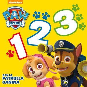 1, 2, 3 CON LA PATRULLA CANINA (PAW PATROL  PATRULLA CANINA. TODO CARTÓN)