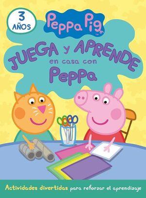 JUEGA Y APRENDE EN CASA CON PEPPA (3 AÑOS). TU CUADERNO DE VACACI