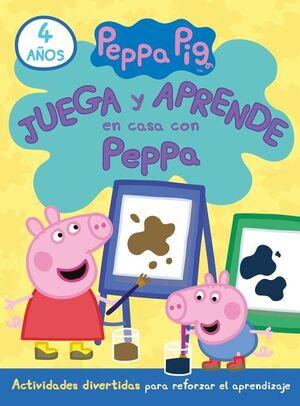 JUEGA Y APRENDE EN CASA CON PEPPA (4 AÑOS). TU CUADERNO DE VACACI