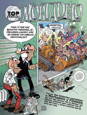 LOS MONSTRUOS  EL CIRCO (TOP CÓMIC MORTADELO 55)