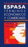 VOCABULARIO DE TÉRMINOS ECONÓMICOS Y COMERCIALES ESPAÑOL-INGLÉS