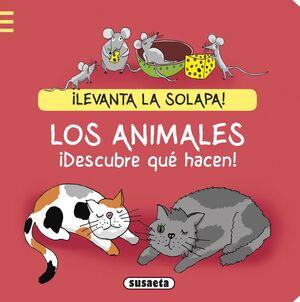 LOS ANIMALES. ¡DESCUBRE QUÉ HACEN!