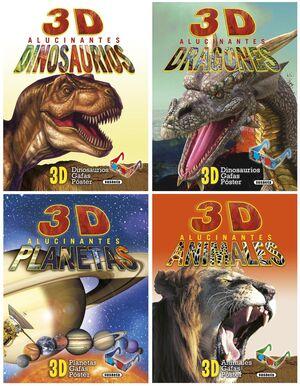 3D ALUCINANTES (4 TÍTULOS)