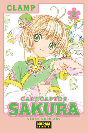 CARD CAPTOR SAKURA CLEAR CARD 2