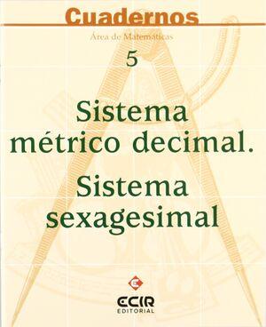 C5:SISTEMA M.DÉCIMAL-S.SEXAGESIMAL