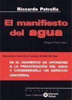 MANIFIESTO DEL AGUA, EL