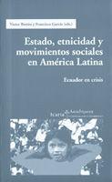 ESTADO, ETNICIDAD Y MOVIMIENTOS SOCIALES AMER