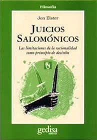 JUICIOS SALOMÓNICOS