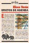 EFECTOS DE AGENDA