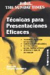 TÉCNICAS PARA PRESENTACIONES EFICACES