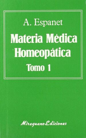 MATERIA MÉDICA HOMEOPÁTICA (2 TOMOS)