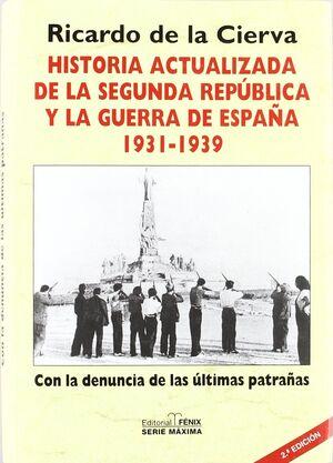HISTORIA ACTUALIZADA DE LA SEGUNDA REPÚBLICA1931-1939