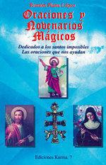 ORACIONES Y NOVENARIOS MÁGICOS