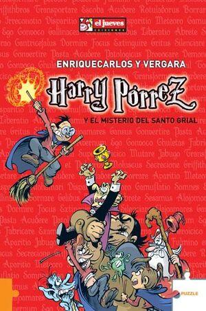 HARRY PÓRREZ Y EL MISTERIO DEL SANTO GRIAL