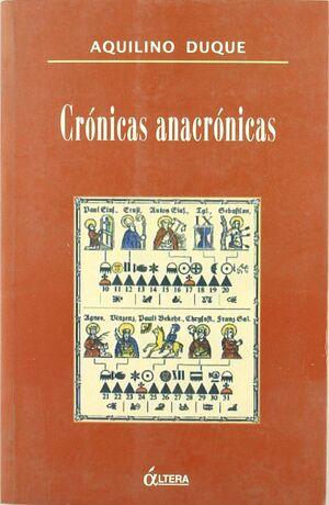 CRÓNICAS ANACRÓNICAS