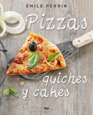 PIZZAS, QUICHES Y CAKES