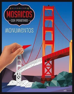 KALEIDOSCOPIO-MOSAICOS CON PEGATINAS ADULTOS- MONUMENTOS