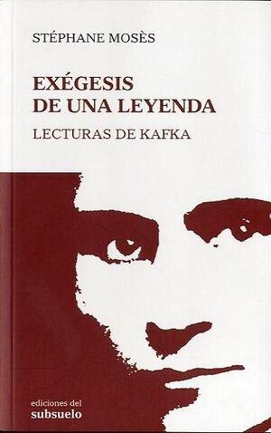EXÉGESIS DE UNA LEYENDA