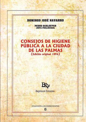 CONSEJOS DE HIGIENE PUBLICA A LA CIUDAD DE LAS PALMAS ( EDI