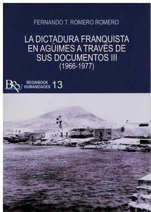 DICTADURA FRANQUISTA DE AGUIMES (III) A TRAVES DE SUS DOCUM