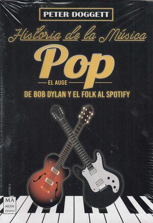 ESTUCHE HISTORIA DE LA MUSICA POP