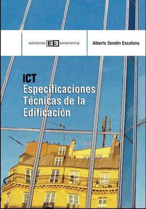 ICT. ESPECIFICACIONES TÉCNICAS DE LA EDIFICACIÓN