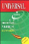 DICCIONARIOS UNIVERSAL DE VERBOS ESPAÑOLES