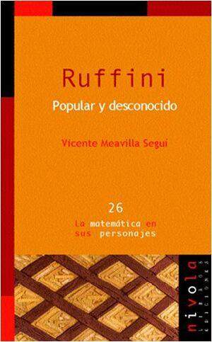 RUFFINI. POPULAR Y DESCONOCIDO