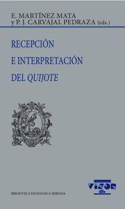 RECEPCION E INTERPRETACION DEL QUIJOTE