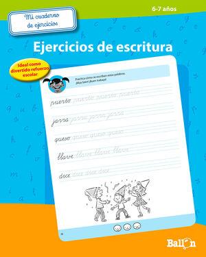 EJERCICIOS DE ESCRITURA