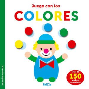 STICKERS-JUEGO CON LOS COLORES - PEQUEÑOS CURIOSOS