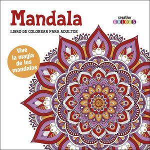 MANDALA LIBRO DE COLOREAR PARA ADULTOS